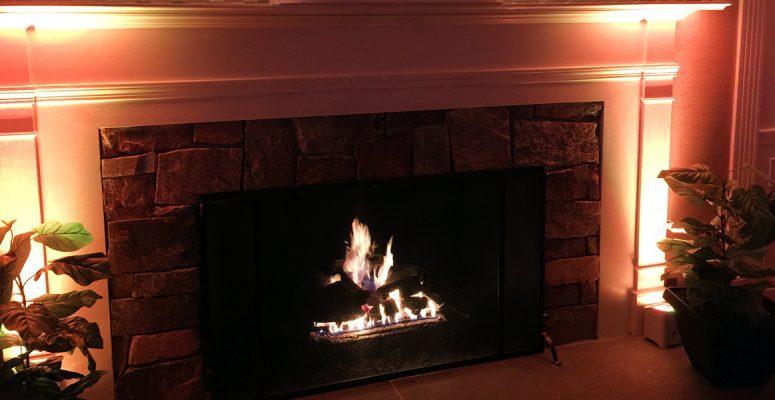 Music Express Fireplace Up-Lighting 2017