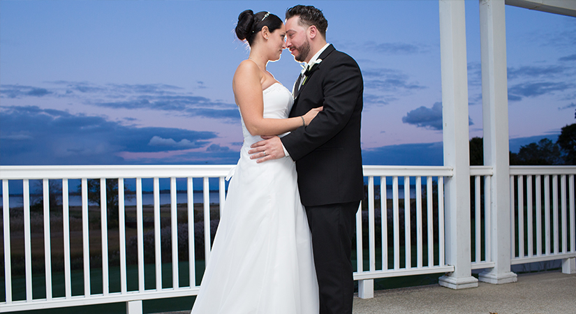 Music Express Couple Sunset Wedding Photos 2017